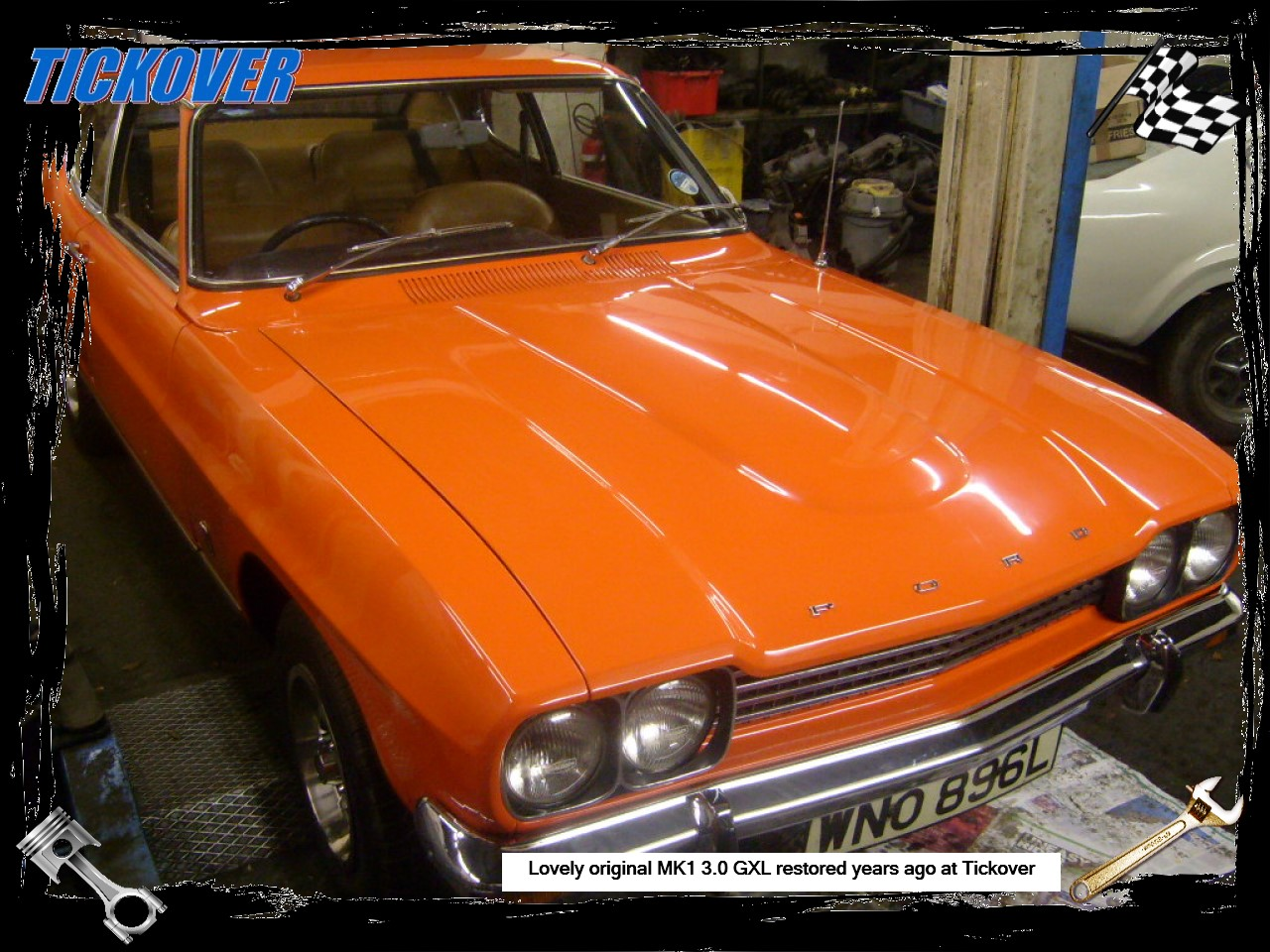 Tickover Classic And Performance Ford Specialist Parts