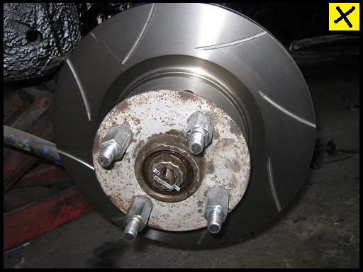 Fitting Ford Capri Brakes
