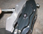 Fitting Ford Capri Brakes 5