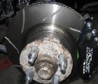 Fitting Ford Capri Brakes 12