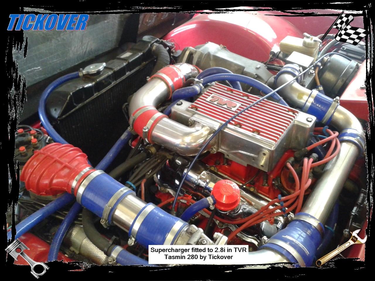 Tickover Ford Capri V8 X Pack