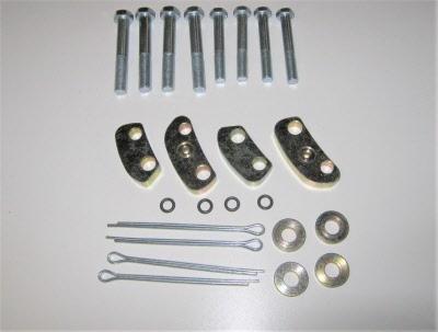 capri vented disc spacer kit