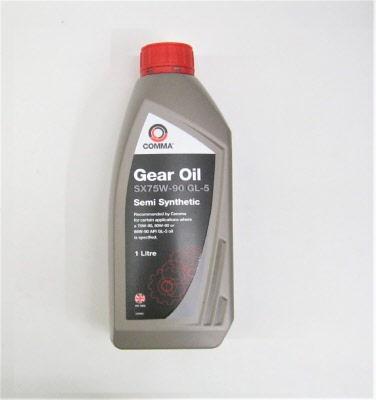 Ford Capri Gearbox Oil